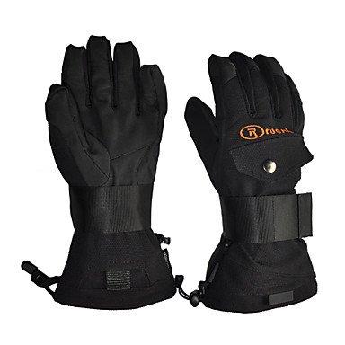 Zcl Rruesch-Waterproof Snowproof Skiing Gloves With Hipora Inserts(Black,Brown) , Camouflage , Xl