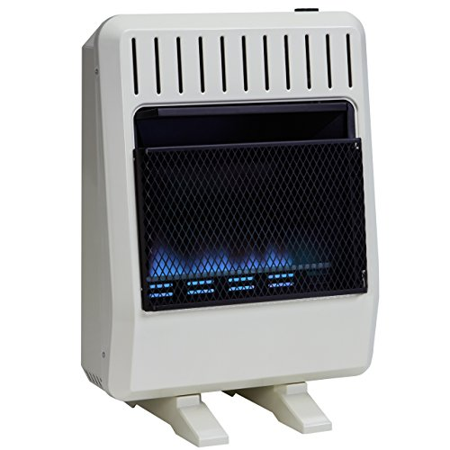 Avenger Dual Fuel Vent Free Blue Flame Heater - 20,000 BTU, Model# FDT20BF (Indoor Flame Heater compare prices)