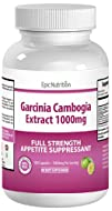 38% OFF – Epic Nutrition Garcinia Cambogia Extract – 100% Pure Garcinia Cambogia Dietary Weight Loss…