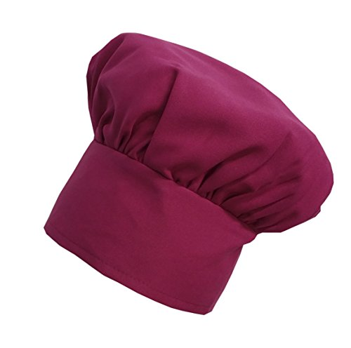 Chefskin Chef Mushroom Hat Kids Children Hot Pink Fuchsia Adjustable