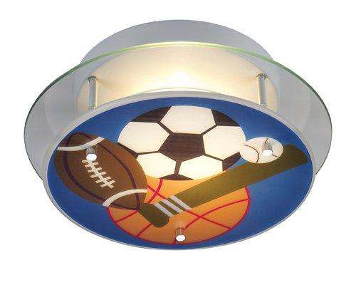 Elk Lighting 21005/2 Novelty 2-Light Sports Semi-Flush front-1050058