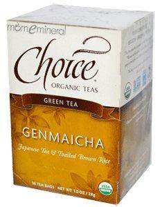 Genmaicha, Green Tea, 16 Tea Bags, 1.0 oz (28 g) by Choice Organic Teas