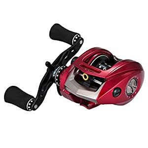 [Cyber Monday Sales] Piscifun Kylin Baitcasting Fishing Reel Right Left Handed Magnetic Brake System Saltwater Baitcaster Reels with Aluminum Frame Good for Casting Rod and Braided Mono Fishing Line