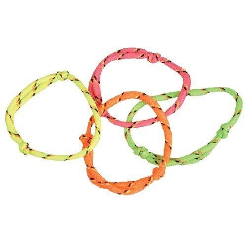 ~ 144 (1 Gross) ~ Neon Rope Friendship Bracelets ~ New, Model: JBFRIBR
