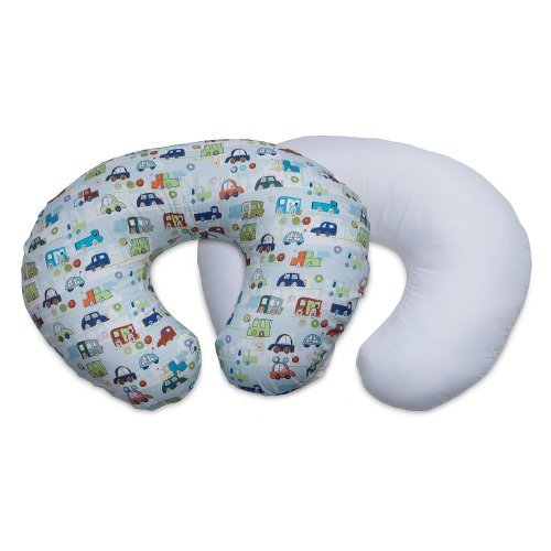 Boppy Pillow Protector and Slipcover Value Pack- Crazy Cars - 1