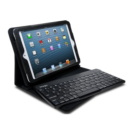 Kensington KeyFolio Pro 2 Case and Stand for iPad Mini with Removeable Bluetooth Keyboard (K39755US)