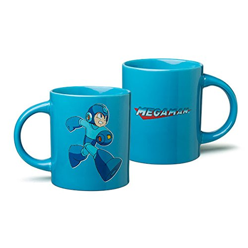 Classic Mega Man with Logo Coffee Mug