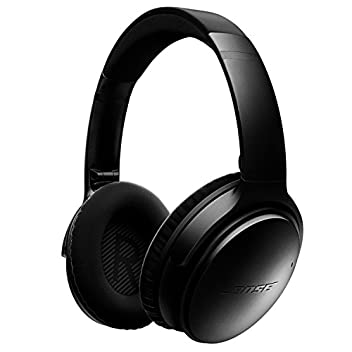 Quiet Comfort 35 wireless headphones are engineered with world-class noise cancellation that makes quiet sound quieter and music sound better. Free yourself from wires and connect easily to your devices with Bluetooth and NFC pairing. Volume-optimize...