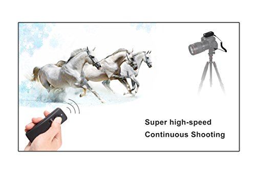 CameraPlus® High Speed Sync (HSS) Camera Shutter Release 320ft/100m Wireless Remote Control 2.4G 16CH Transmitter Receiver (CameraPlus RWT S2)