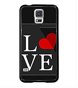 Printvisa Ultra Love 2D Hard Polycarbonate Designer Back Case Cover for Samsung Galaxy S5 :: ...