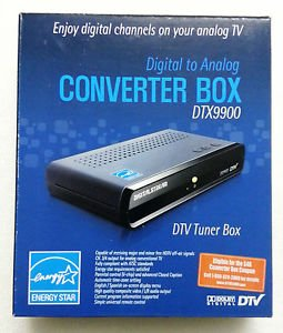 DIGITAL STREAM DIGITAL TO ANALOG CONVERTER BOX DTX9900 (Digital Stream Tv compare prices)