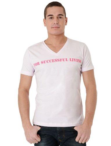 Diesel T-stary-r 32t Straight Pink Man T-shirts Make Men - L