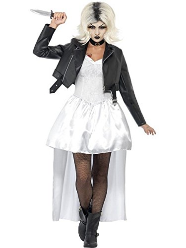 Smiffys Women's White Bride Of Chucky Costume - US Dress 10-12