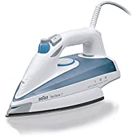 Braun TS725 Iron, 2400 Watt, White