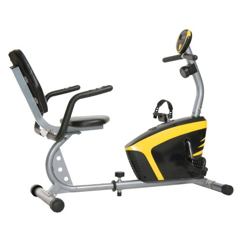 Body Champ BRB678 Magnetic Recumbent Exercise Bike