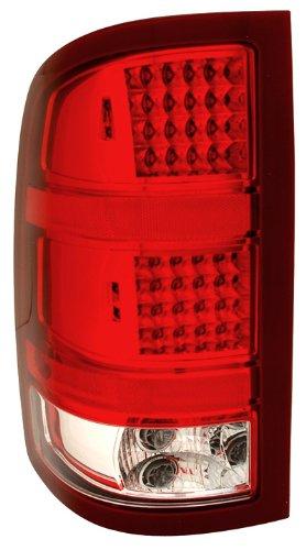 Anzo USA 311089 GMC Sierra HD Red/Clear LED Tail