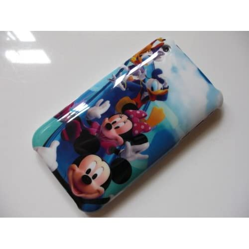 com Disney Mickey & Minnie Mouse Hard Cover Case iPhone 3G 3GS + Free