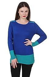 Spink Women's Acrylic Sweater (1919_Multi_Free Size)