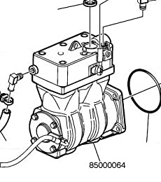 Volvo Truck 85000064 Air Compressor Reman