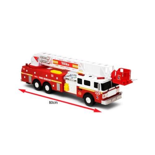 Tonka Titan Mighty Motorized Fire Rescue Truck