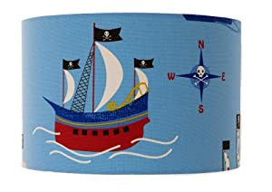 """8"""" Pirate Ship Lampshade Pendant / Ceiling Light !!! by delight"""