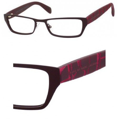 Marc By Marc Jacobs Marc by Marc Jacobs MMJ554 Eyeglasses-0YF8 Matte Burgundy-50mm