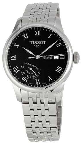 Tissot Men's T0064241105300 Le Locle Black Dial Watch