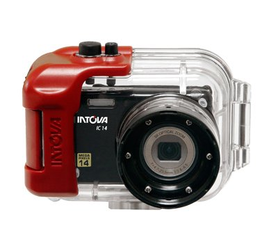Intova 14 Megapixel Digital Sports Dive Camera with 180ft Waterproof Housing and 720p HD Video Resolution