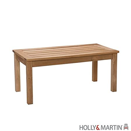 Holly & Martin Edison Coffee Table in Light Brown Teakwood Stain