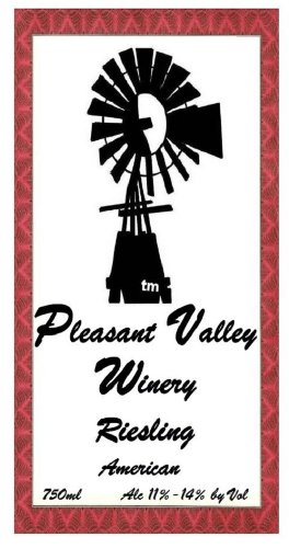 2012 Pleasant Valley Riesling 750 Ml