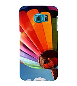 printtech Hot Air Balloon Colored Back Case Cover for Samsung Galaxy S6::Samsung Galaxy S6 G920