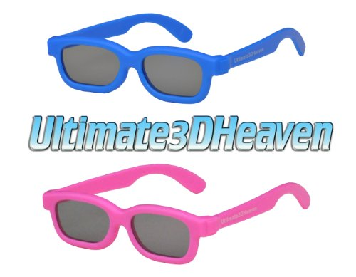 Ultimate 3D Heaven Kids Size Genuine Sealed RealD