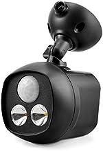 TaoTronics Spotlight LED avec Détecteur de Mouvement PIR et Photoélectrique (Sans Fil, 300 lumens, étanchéité IP65 , Portée 7.6m, Capteur 120 degrés) - Noir