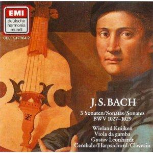 Bach:3 Violin Sonatas