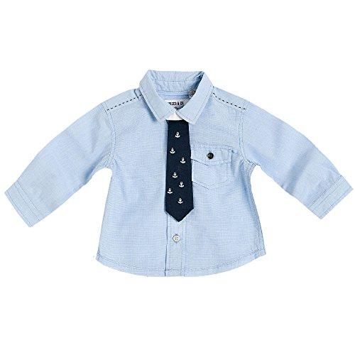 CHICCO - Camicia m/l cotone tinto filo (6 mesi - 62 cm)