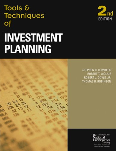 Tools & Techniques of Investment Planning (Tools...