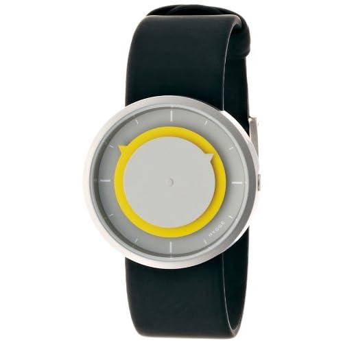 [ヒュッゲ]HYGGE 腕時計 3012-COOL GREY/YELLOW POS+ [ポスト] MSP3012C(YE)  【正規輸入品】