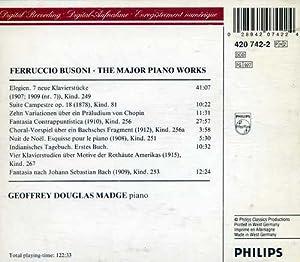 Busoni: The Piano Works