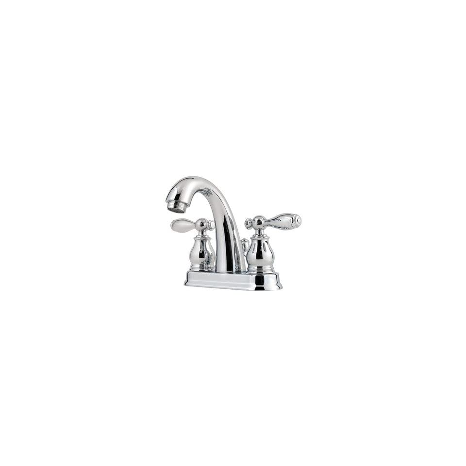 Price Pfister F 048 UN Unison 4 Centerset Bathroom Faucet with Two Handles