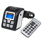 SODIAL(R) Manos Libres Bluetooth USB SD Transmisor FM de Coche para MP3/MP4