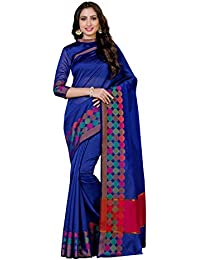 Mimosa By Kupinda Art Silk Saree Kanjivaram Style Color: Royal Blue (4064-AB-1432-RBLU)
