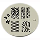 Konad Stamping Nail Art Image Plate - M57