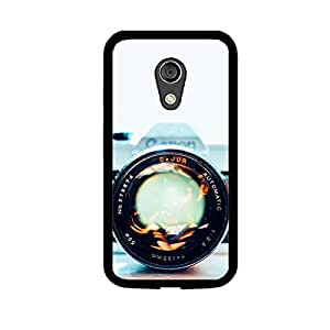 Vibhar printed case back cover for Motorola Moto G (2nd Gen) BigLens