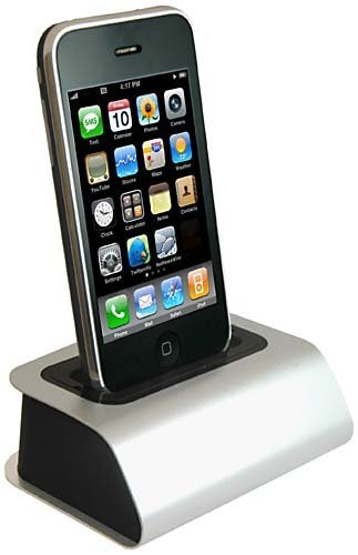 Dock Cradle for iPhone 3G/iPod Touch 2nd Gen with AV out & AC