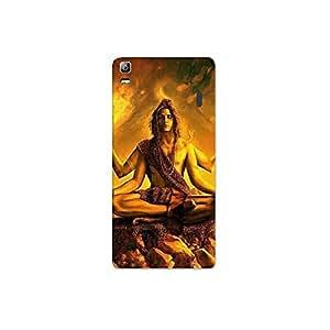 lenovo k3 note a7000 nkt11_R (24) Mobile Case by Mott2 - Lord Shiva in Meditation