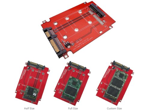 KALEA-INFORMATIQUE © - Adaptateur mini PCI EXPRESS vers SATA - Pour disque SSD miniPCIe de type ASUS PIN-OUT