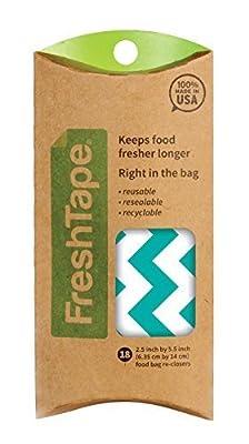 FreshTape Food Bag Re-Sealer, Pattern Design, Set of 18 by Harold Import Company, Inc.