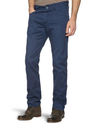 Esprit R35D11 Straight Men's Trousers 423 Deep Blue W34 InxL34 In