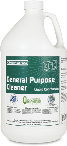 Chemspec DFCGPL4G Liquid Concentrate General Purpose Cleaner, 1 Gallon Bottles (Case of 4)