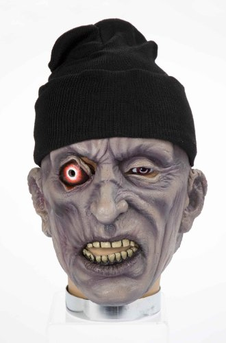 Forum Novelties Zombie Mask with Hat, Pop